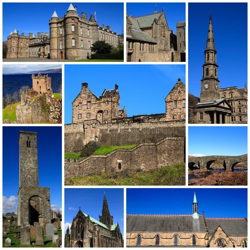 苏格兰的印象 免版税库存图片