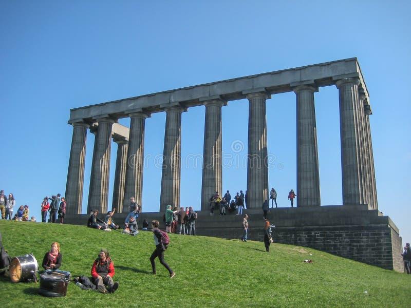 苏格兰的国家历史文物在爱丁堡 库存图片