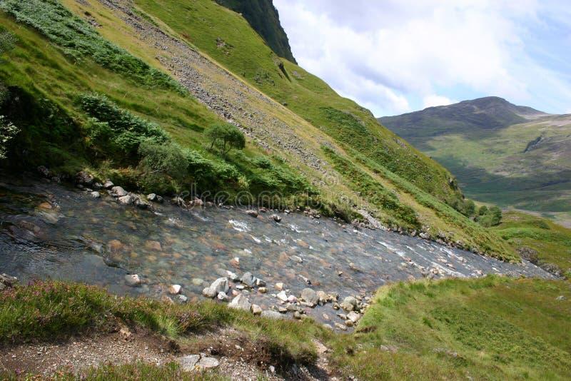 苏格兰的高地 免版税图库摄影
