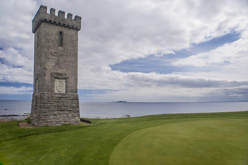 苏格兰高尔夫球场Anstruther 免版税库存图片