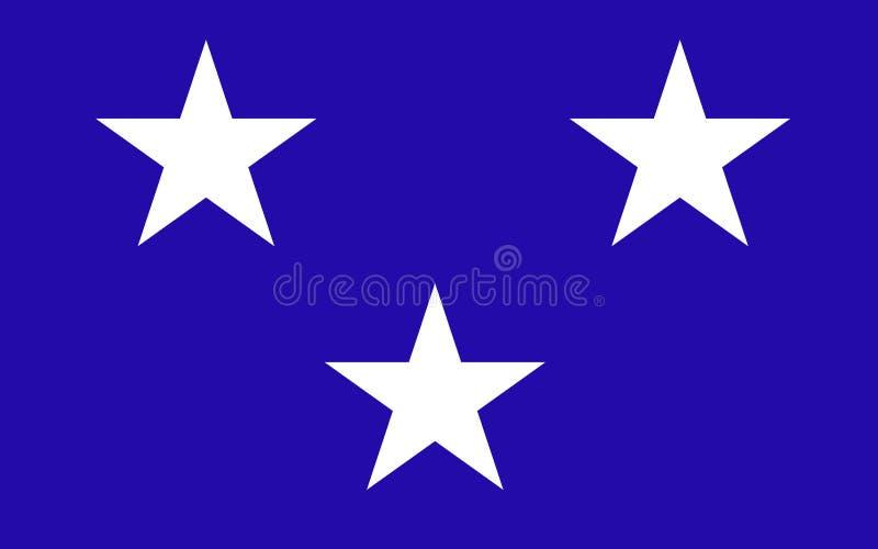 苏格兰,伟大的Brita英国的海鳗理事会旗子  免版税库存照片