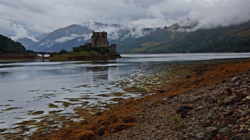 苏格兰:Eilan Donan城堡 免版税库存照片