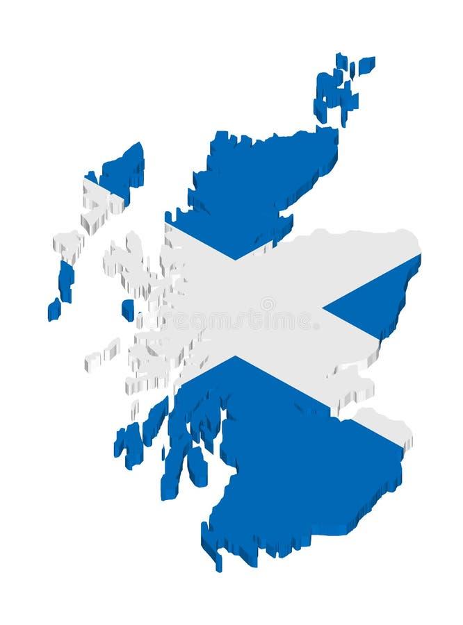 苏格兰 皇族释放例证