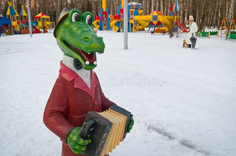 从苏联动画片的图 库存图片