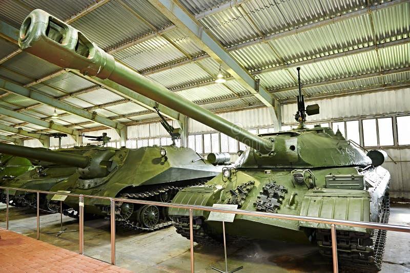 苏联重的坦克IS-3 免版税图库摄影