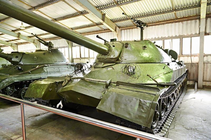 苏联重的坦克IS-7 库存照片