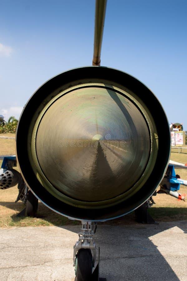 苏联Mig战斗机在古巴 免版税库存图片