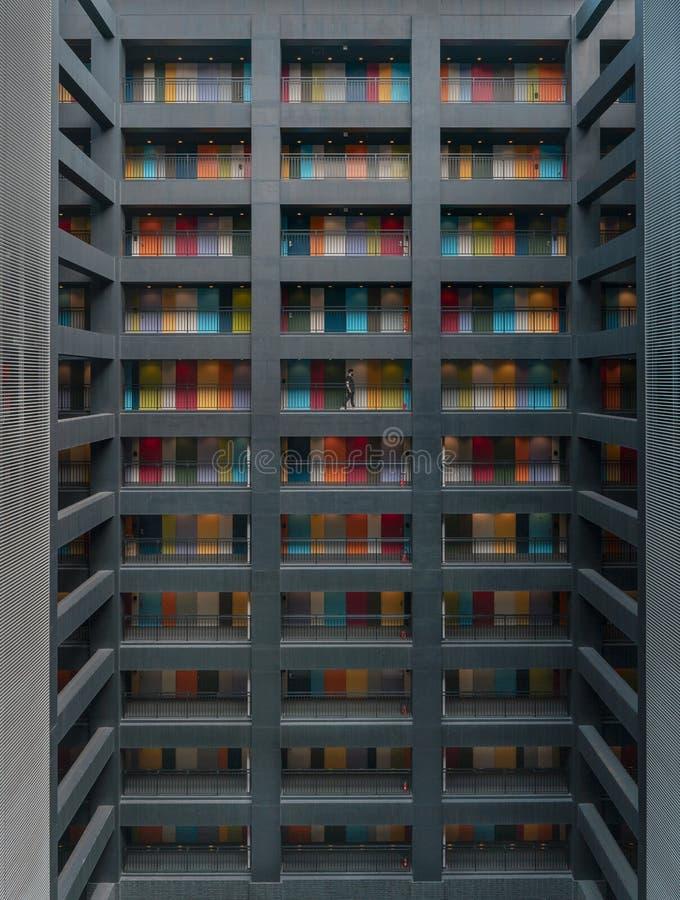 苏豪区:东京设计优越 库存照片