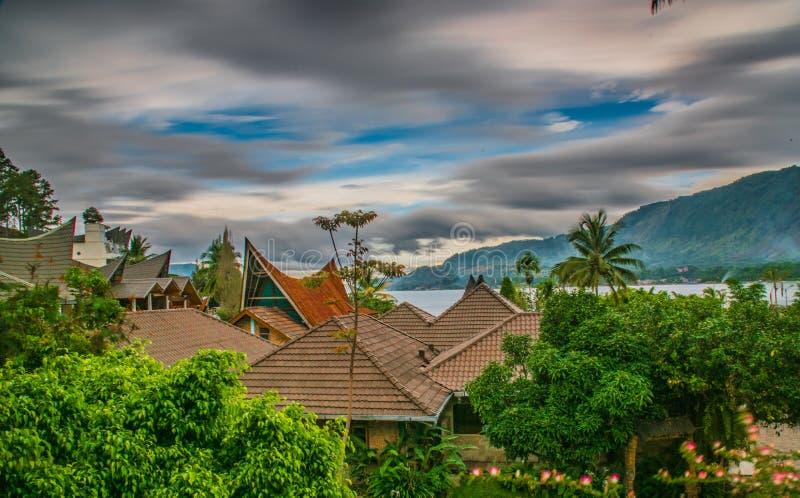 苏门答腊美好的风景  库存图片