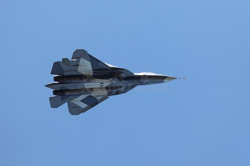 苏霍伊朴FA T-50 图库摄影