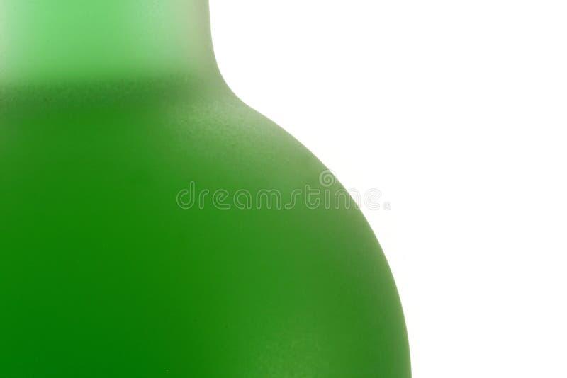 苦艾酒瓶设计 库存图片