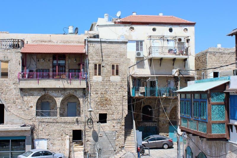 英亩以色列老城市 免版税库存照片