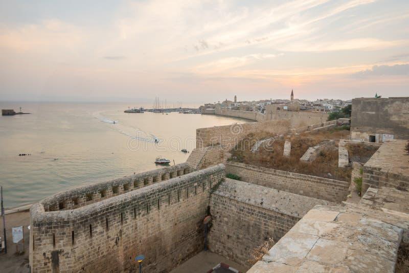 英亩耶路撒冷旧城 库存照片