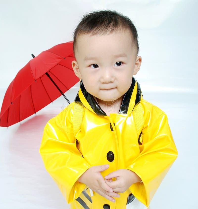 英俊亚裔的男孩 免版税图库摄影