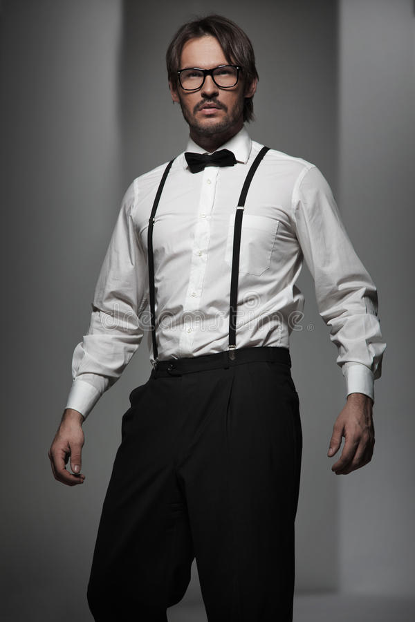 英俊的人 免版税库存图片