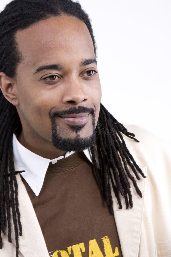 英俊的新黑人 免版税库存照片