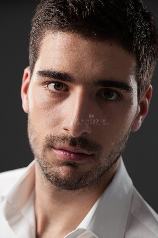 英俊的白种人人 免版税库存照片