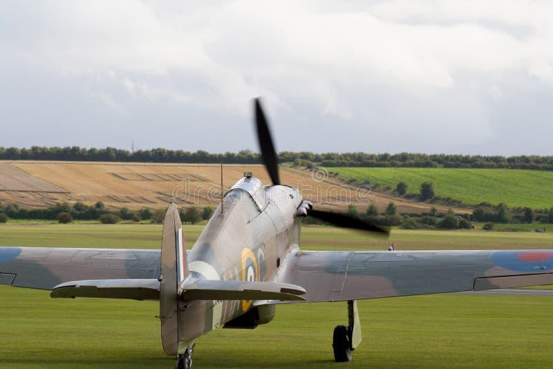 英国二战航空器 免版税图库摄影
