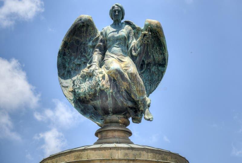 英国人布尔人战争纪念建筑,约翰内斯堡 库存图片