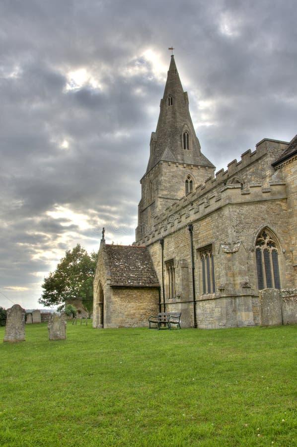英国人的教会撒克逊人 免版税库存图片