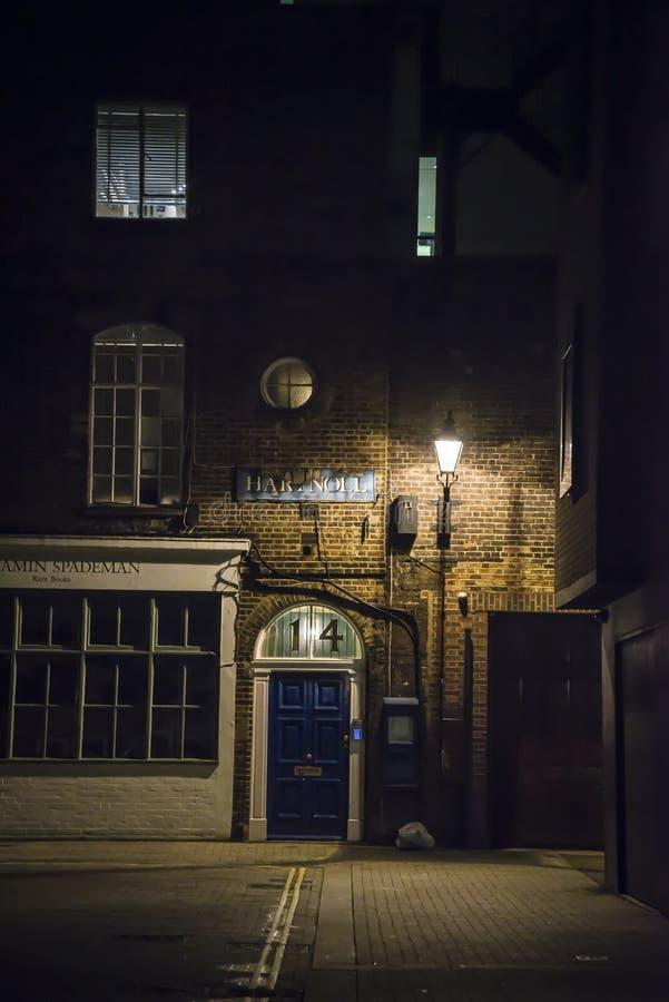 英国伦敦市中心梅菲尔 免版税库存图片