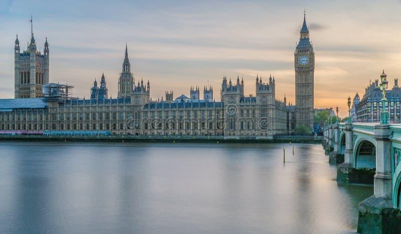 英国伦敦西敏斯特美景 免版税图库摄影