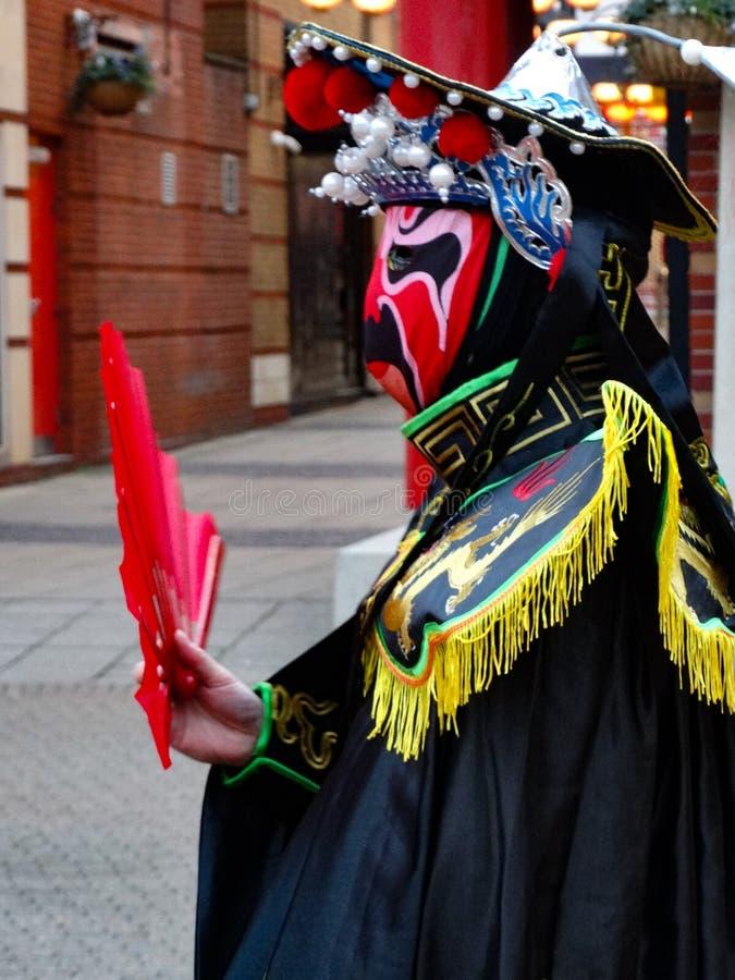 英国伯明翰2020年中国新年庆祝活动 库存照片
