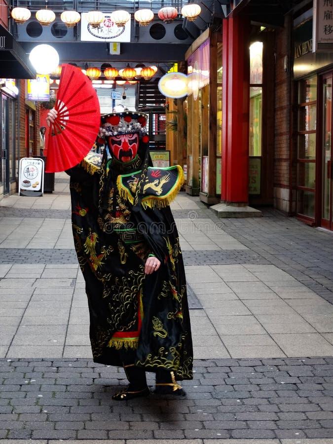 英国伯明翰2020年中国新年庆祝活动 免版税库存照片