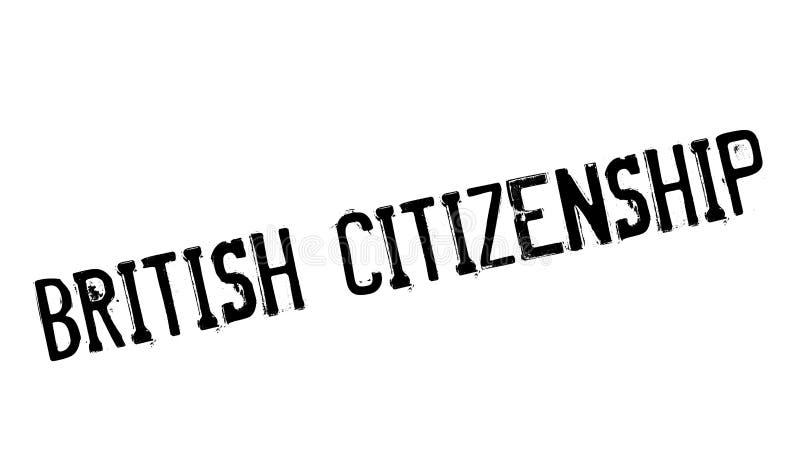 英国公民身份不加考虑表赞同的人 向量例证