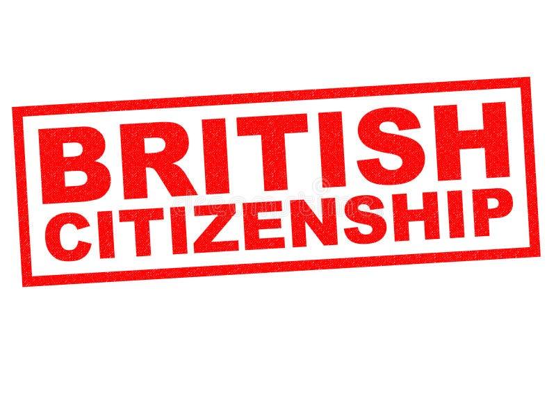 英国公民身份 库存例证
