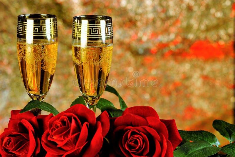 英国兰开斯特家族族徽和酒、bokeh爱的背景庆祝和乐趣 爱的英国兰开斯特家族族徽标志,乐趣,华伦泰的酒标志  库存照片