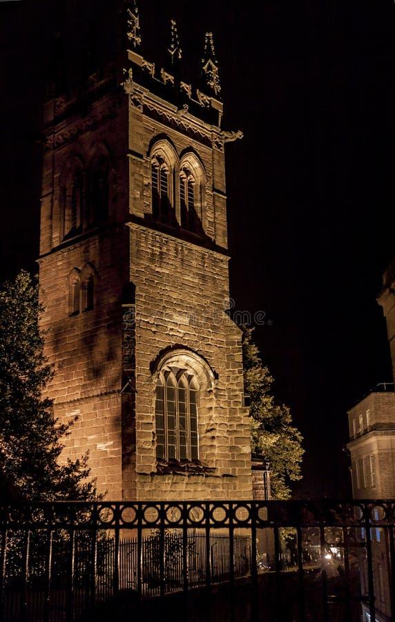 英国切斯特圣玛丽教堂 免版税库存图片