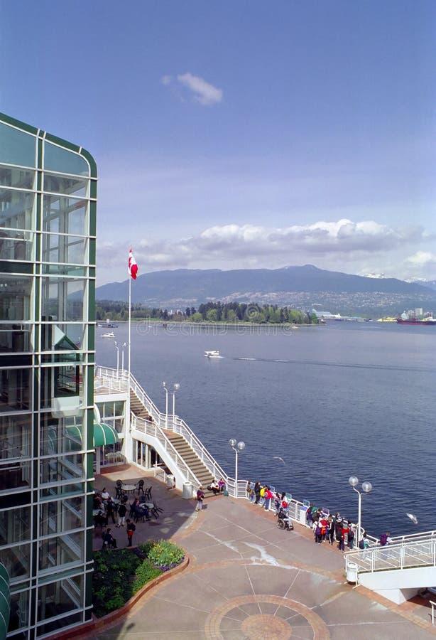 英国加拿大哥伦比亚港口温哥华 库存照片
