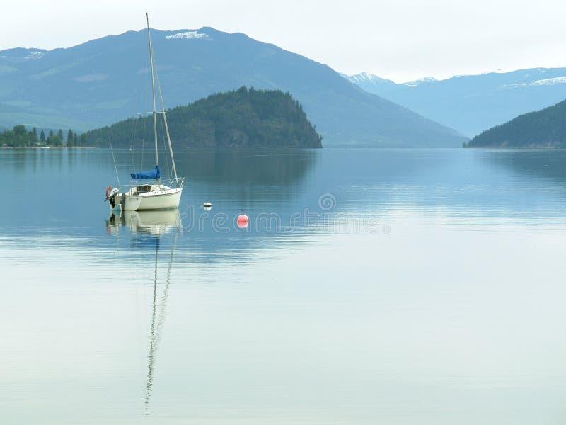 英国加拿大哥伦比亚湖 库存照片