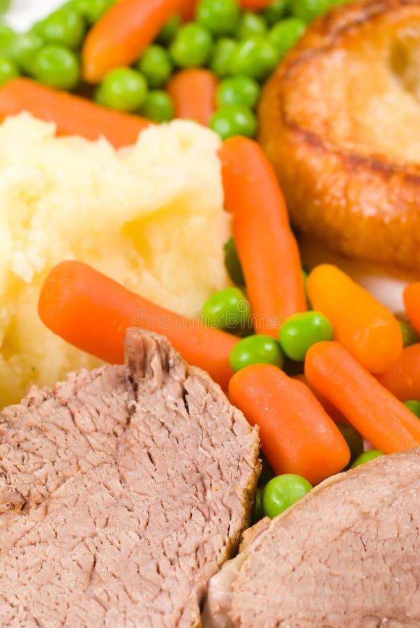英国午餐星期天 免版税库存照片