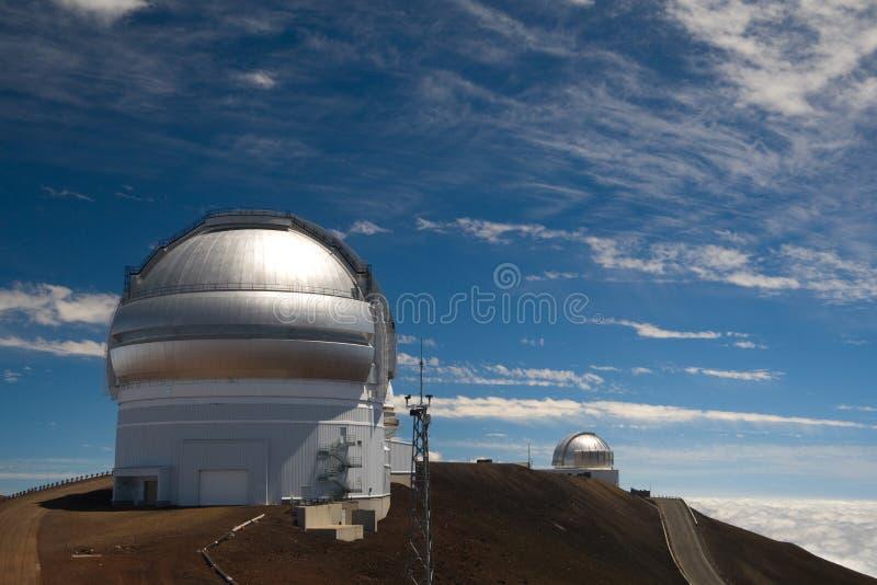 英国双子星座红外的观测所 免版税库存图片