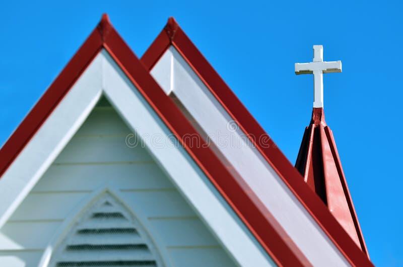 英国国教的教堂 图库摄影