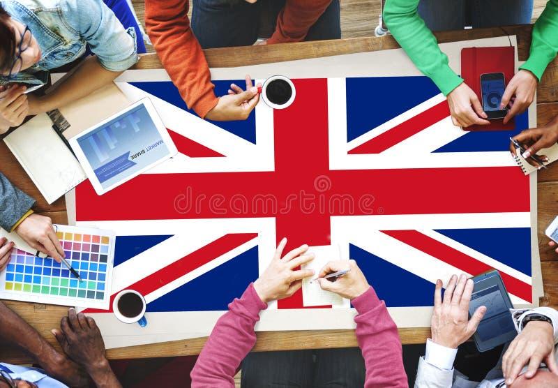英国国旗国籍文化自由概念 免版税库存照片