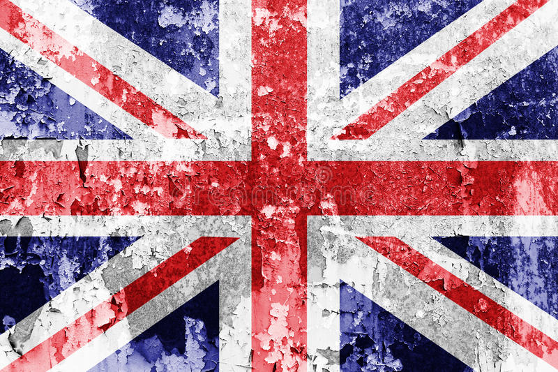 英国国旗旗子 皇族释放例证