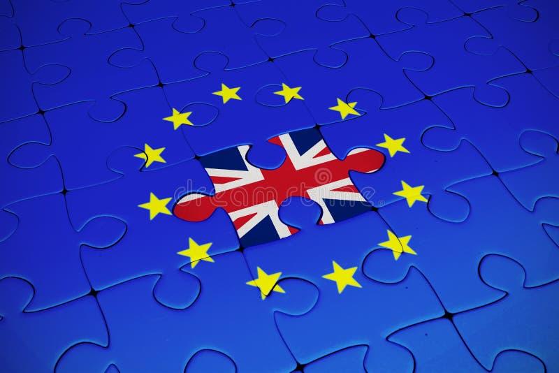 英国国旗的综合图象 免版税库存照片