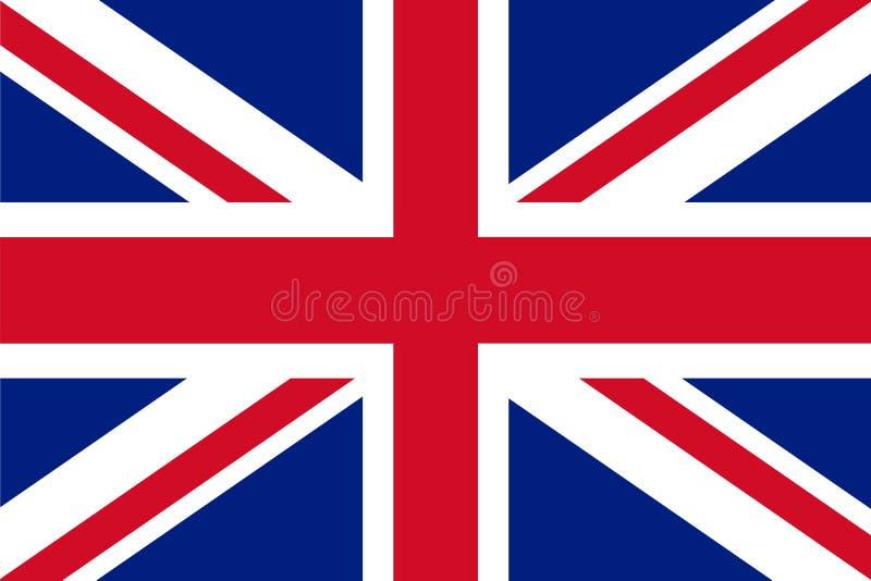 英国国旗-英国的旗子 皇族释放例证