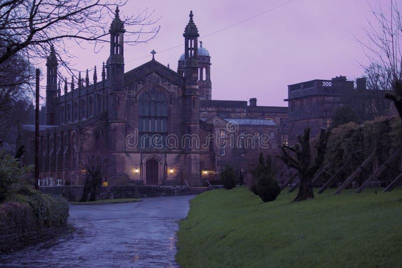 英国大学 免版税库存图片
