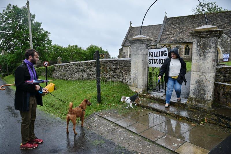 英国大选 库存照片