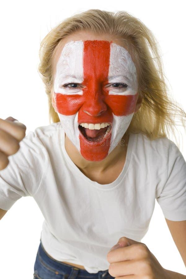 英国女孩 免版税图库摄影