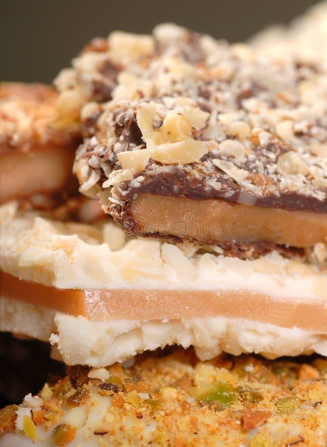英国奶糖种类 免版税库存图片