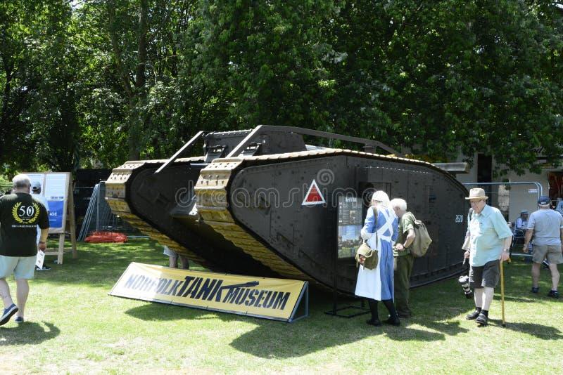 英国威尔特郡特罗布里奇 29/06/2019 威尔特郡武装部队和退伍军人庆祝活动 库存照片