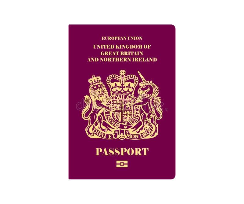英国护照例证 皇族释放例证