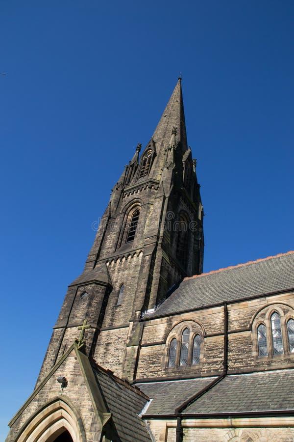 英国教会 库存照片