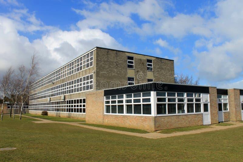 英国教学楼 免版税库存照片