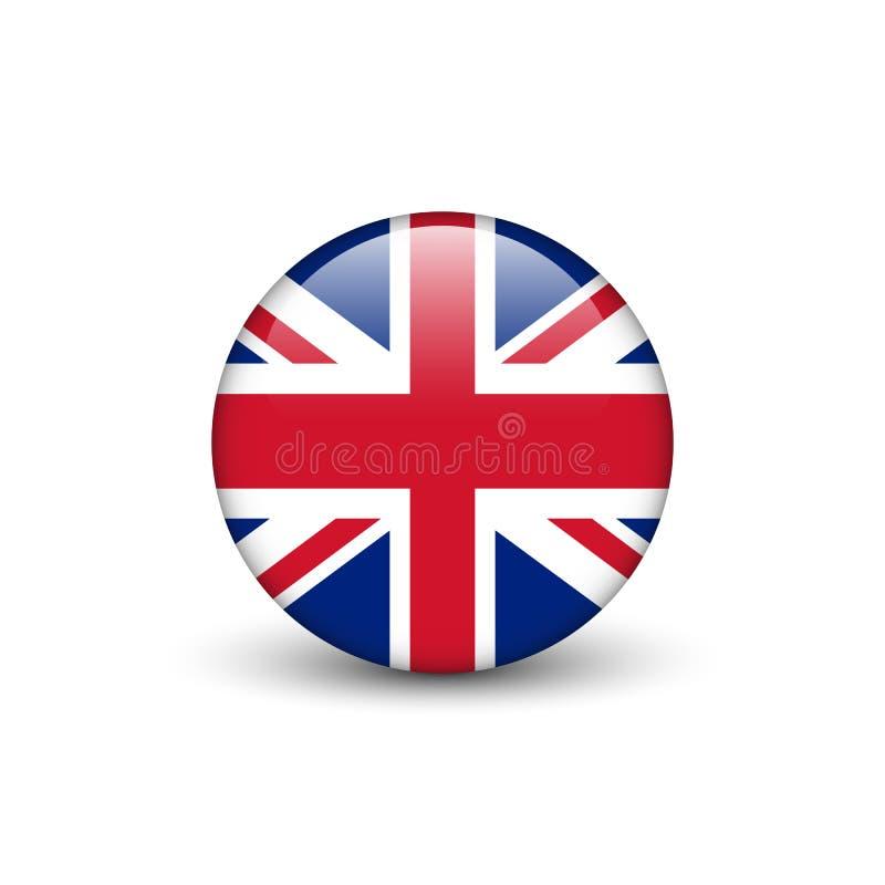 英国旗子,英国国旗 免版税库存图片
